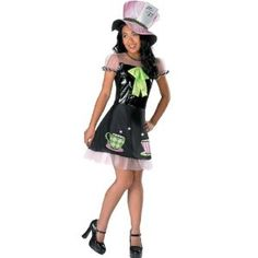 Disguise Mad Hatter Pre-Teen Costume