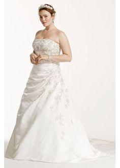 8459fc4d805 A timeless and classic wedding dress