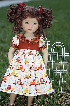 doll outfit for Little Darling, Effner 13, Dianna Effner, Betsy McCall, Kish