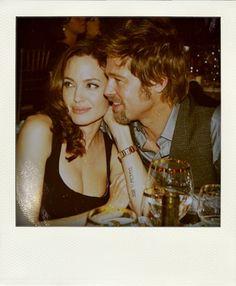 Angelina Jolie and Brad Pitt awwww