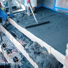 Лестница из бетона своими руками