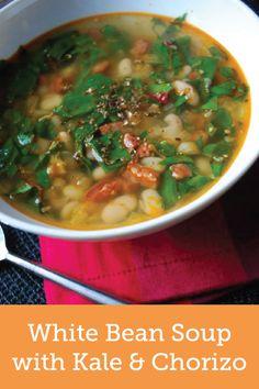 ... white bean soup ziploc brand sc creamy white bean and chorizo soup