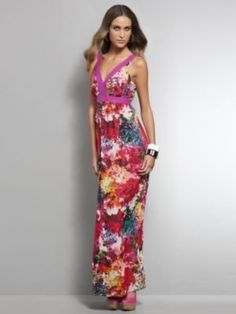 23584ea675c Bright   Bold Floral Maxi Dress - ShopStyle Day