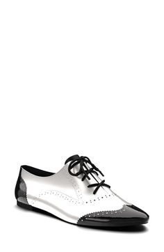 c5f03d87856 Custom made Shoes of Prey Leather Brogue Oxford (Women) available at   Nordstrom Beautiful