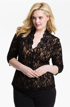 Lace Top #Plus #Size