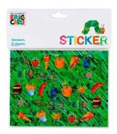 Raupe Nimmersatt Sticker bei www.party-princess.de Die kleine Raupe Nimmersatt - The little caterpillar - The very hungry caterpillar