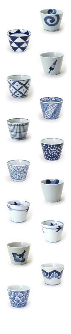 Arita porcelain cups