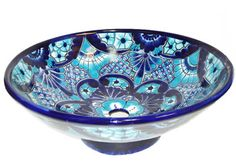 Round Top Mounted Talavera Sink