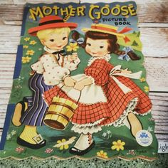 Hey, I found this really awesome Etsy listing at https://www.etsy.com/listing/239377442/mother-goose-picture-book-by-merrill