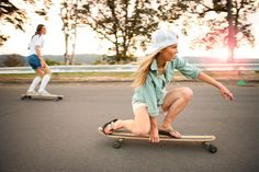 learn to longboard.