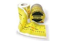 トイレットペーパーは1cmまでね! 「Tape Measure Toilet Paper」 | roomie(ルーミー)
