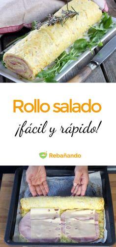 Bakery Recipes, Keto Recipes, Cooking Recipes, Healthy Recipes, Empanadas, Sin Gluten, Entrees, Brunch, Food And Drink