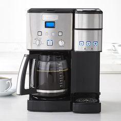 Cuisinart 12-Cup & Single Serve Coffeemaker #williamssonoma