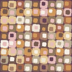 Cross Stitch Patterns - Design - Abstract Geometric Cross Stitch Pattern Earth Tones