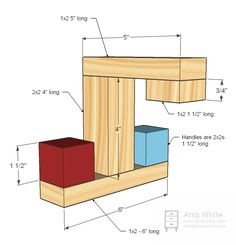 Ana White | Build a Play Faucet | Free and Easy DIY Project and Furniture Plans