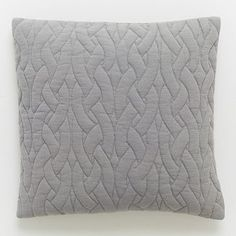 Quilted Pillow Cover – Feather