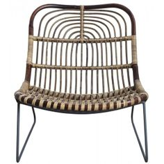 Lounge rattan chair from Les repères des belettes, featured at www.thefanzynet.com