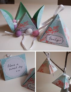 DIY No-glue treat box (free download). these were the ones i showed you the other day @Jessica Bliven