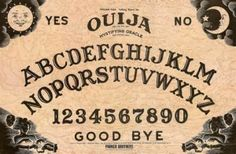Ouija Board - My dad explains how our family got into spiritualism.