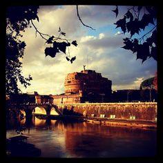 #castillo del #santo #angel. Curiosidades sobre la antigua fortaleza papal en www.quieroitalia.com/roma.asp