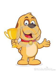 dog-holding-trophy-cup-clipart-picture-cartoon-character-55315400.jpg (360×450)
