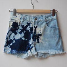 Annex DIY: New God's Eye Jean Shorts
