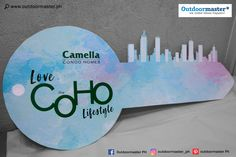 Give your tokens an appealing look when representing your brand like this key made of sticker on sintra board for Camella Homes – Bacolod! For all your graphic and printing needs, contact 0917 8300 Love And Co, Bacolod, Banners, Printing, Homes, Graphics, Stickers, Shit Happens, Banner