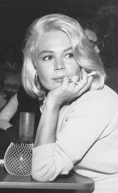 Lovely Sandra Dee (wife of Bobby Darin.)
