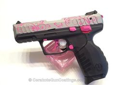 Ruger SR-22 Prison Pink with Satin