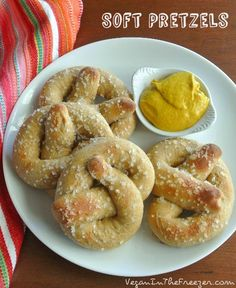 Soft Pretzels - easy and delicious - celebrate anytime.