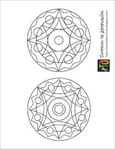 "MANUALIDADES CON CD EN ESTE CASI ""MANDALAS"" Cd Crafts, Adult Crafts, Crafts To Make, Mandala Pattern, Pattern Art, Cd Recycle, Cd Project, Cd Design, Old Cds"
