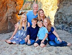 This was one of the sweetest families I have ever photographed.  We headed down to Laguna on a record-reaking hot evening for their shoot.  Of course, the beach was packed with people trying to cool off, but we still managed to find some empty spots for their photos.  Because I usually shoot…