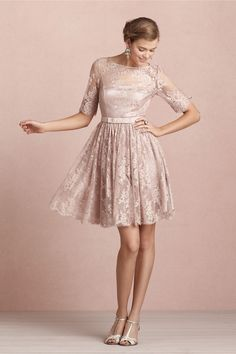 Tea Rose Dress from BHLDN - thinking about this one for Syd & Ryan's wedding. Not sure if I am too old or how it will look with cowboy boots : )