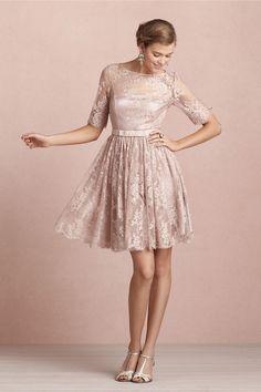 Tea Rose Dress in Bridesmaids & Partygoers Dresses at BHLDN