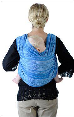 Ellevill Jordan's Back Carry with head support