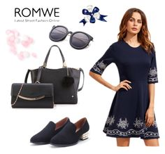 """""""ROMWE - 12/9"""" by thefashion007 ❤ liked on Polyvore"""