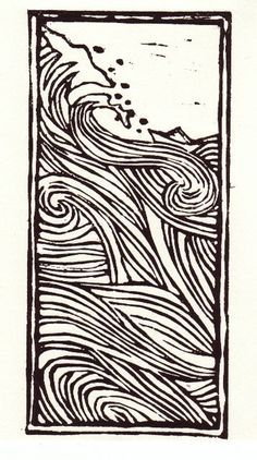 lino print borders - Google Search
