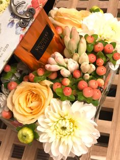 #flowerslover #roses #dhalia #flowerbox #hypericum #victoriassecret #specialgift Flower Room, My Flower, Flowers, Flower Boxes, Special Gifts, Flower Arrangements, Roses, Table Decorations, Photo And Video