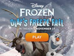 frozen game, olaf game