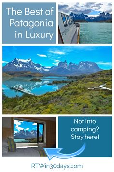 Located in southern South America, the vast territory of Patagonia spans more than 260,000 square miles across Chile & Argentina. Chile's Torres del Paine National Park is the ultimate destination to experience Patagonia's abundant glaciers, mountain peaks, lakes, rivers, and unique wildlife. Yes, most visitors hike by day and camp overnight. But if you're dreaming of Patagonia and camping just isn't your thing (like me!), the luxuriously eco-friendly explora Patagonia is the perfect choice.