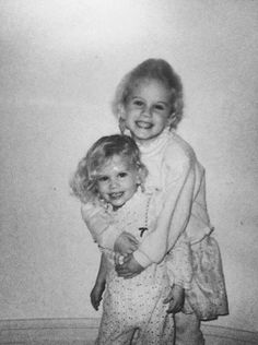 Lana Del Rey and her sister Chuck Grant
