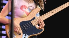 Amazing Bass Solo .... ♫ Music: Cause We've Ended As Lovers Jeff Beck & Tal Wilkenfeld (Crossroads - 2007 Live) Guitar : Jeff Beck Bass : Tal Wilkenfeld Drum...