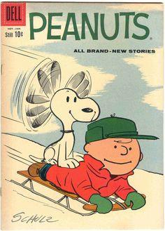 Dell Peanuts #7 (Nov-Jan/61)