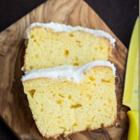 Starbucks' Lemon Loaf Cake -  the True Copycat Recipe