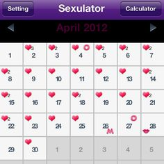 """Sexulator app on iPhone and android tracks your sex life and password protected. There are different icons for different events but we use some of them for different reasons the """"m"""" is supposed to be for multiple event ... Guessing more than one partner but we use it for something else ;) Best Dating Apps, Find People, Spice Things Up, Random Things, Playing Cards, Android, Advice, Events, Icons"""