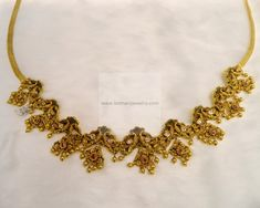 necklace and vaddanam - Google Search