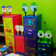 Cutest filing cabinets ever! ;)