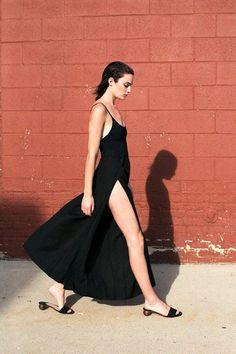 m File | Black Dress #streetstyle #minimal