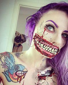 Âgée de 33 ans, Sarah Mudle est une actrice, mannequin et une maquilleuse très créative. Et pour Halloween, elle se retrouve très inspirée… D'origine australien...