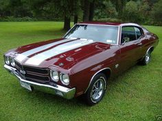 1970 Chevelle SS,Really liking the colors on this,always was a nut over white stripes!!